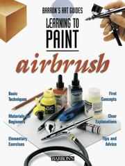 Cover of: Learning to paint, airbrush |