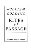 Cover of: Rites of Passage