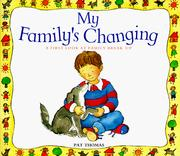 Cover of: My family's changing