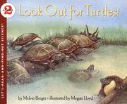 Cover of: Look Out for Turtles!