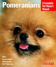 Cover of: Pomeranians (Complete Pet Owner's Manuals)
