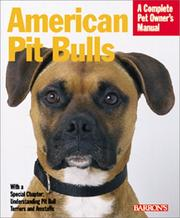 Cover of: American Pit Bull (Complete Pet Owner's Manuals)