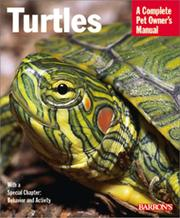 Cover of: Turtles (Complete Pet Owner's Manuals)