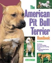 Cover of: The American Pit Bull Terrier Handbook