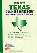 Cover of: Texas Business Directory 1996-97 (Texas Business Directory) |