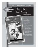 Cover of: One Date Too Many Teacher Resource Guide (Carter High Chronicles (Highinterest Readers)) | Carol Hegarty