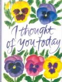 Cover of: I Thought of You Today
