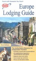 Cover of: AAA Europe Lodging Guide  | American Automobile Association.