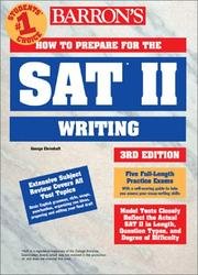 Cover of: How to prepare for the SAT II