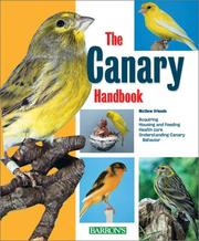 Cover of: The Canary Handbook | Matthew M. Vriends Ph.D.