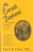 Cover of: An Everett Boyhood