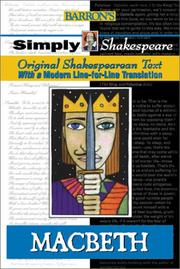 Cover of: Macbeth | William Shakespeare