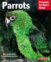 Cover of: Parrots | Mattie Sue Athan