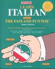 Cover of: Learn Italian the Fast and Fun Way (Fast and Fun Way Series)