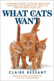 Cover of: What Cats Want