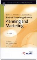 Cover of: Planning and Marketing | Reid M. Oetjen