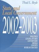 Cover of: State and Local Government 2001-2002 (State and Local Government) | Thad Lewis Beyle