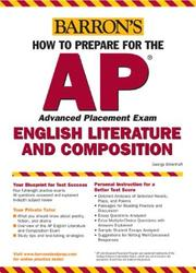 Cover of: Barron's how to prepare for the AP advanced placement exam