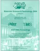Cover of: Materials Science & Technology 2004: AIST Process Metallurgy, Product, Quality And Applications Proceedings  |