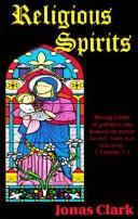 Cover of: Religious Spirits