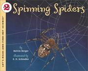 Cover of: Spinning Spiders (Let