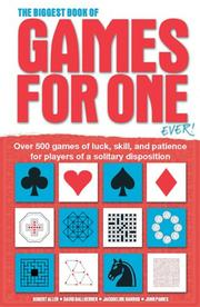 Cover of: The Biggest Book of Games for One Ever!