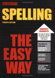Spelling the easy way by Joseph E. Mersand