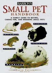 Small pet handbook by Taylor, David