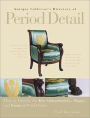 Cover of: Antique Collector's Directory of Period Detail | Deborah Lambert, William Hotopf, Jill Bace, Yvonne Griffiths, Anna Fischel