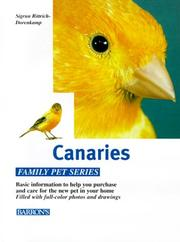 Cover of: Canaries