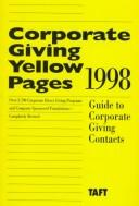 Cover of: Corporate Giving Yellow Pages 1998 | Laura Wisner-Broyles