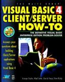 Cover of: Visual Basic 4 Client/Server How-To