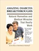 Cover of: Amazing Diabetes Breakthroughs | Frank W. Cawood and Associates