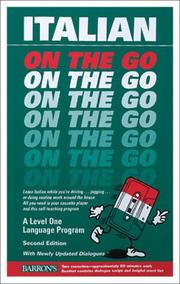 Cover of: Italian on the Go