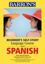 Cover of: Barron's Beginner's Self-study Course Spanish