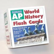 Cover of: AP World History Flash Cards | Lorraine Lupinskie-Huvane