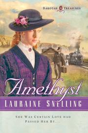 Cover of: Amethyst | Lauraine Snelling