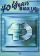 Cover of: 40 Years of Rock & Roll 1955-1995