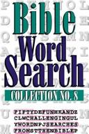 Cover of: BIBLE WORD SEARCH #8 | Bargain Books Staff