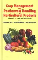 Cover of: Crop Management and Postharvest Handling of Horticultural Products