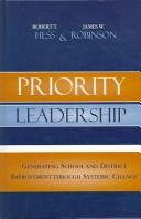 Cover of: Priority Leadership