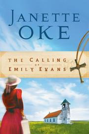 Cover of: The Calling of Emily Evans (Women of the West #1)