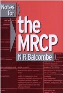 Cover of: Notes for the MRCP
