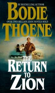 Cover of: The Return to Zion