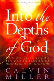 Cover of: Into the depths of God