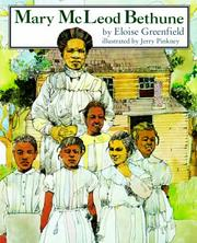 Cover of: Mary McLeod Bethune (Crowell Biographies)