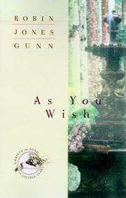 Cover of: As you wish