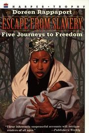 Cover of: Escape from slavery | Doreen Rappaport