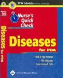 Cover of: Nurse's Quick Check: Diseases, for PDA