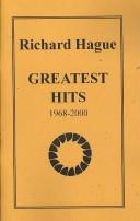 Cover of: Richard Hague | Richard Hague